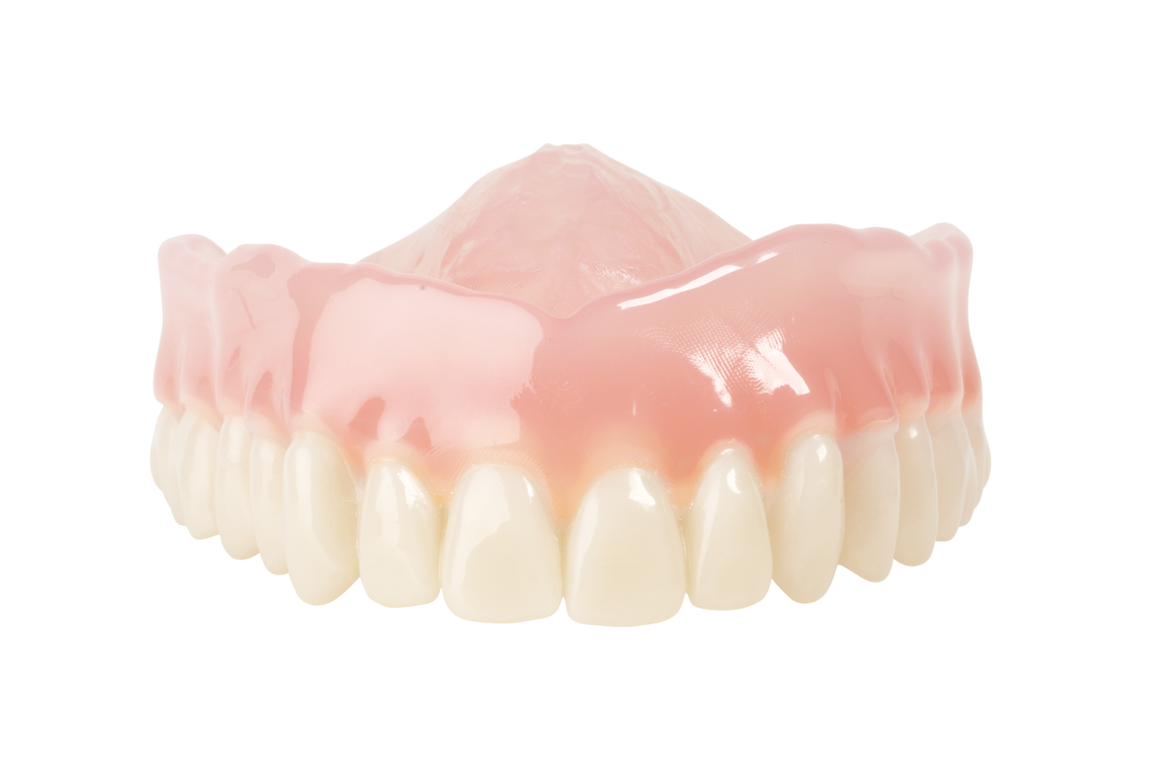 Light pink denture base