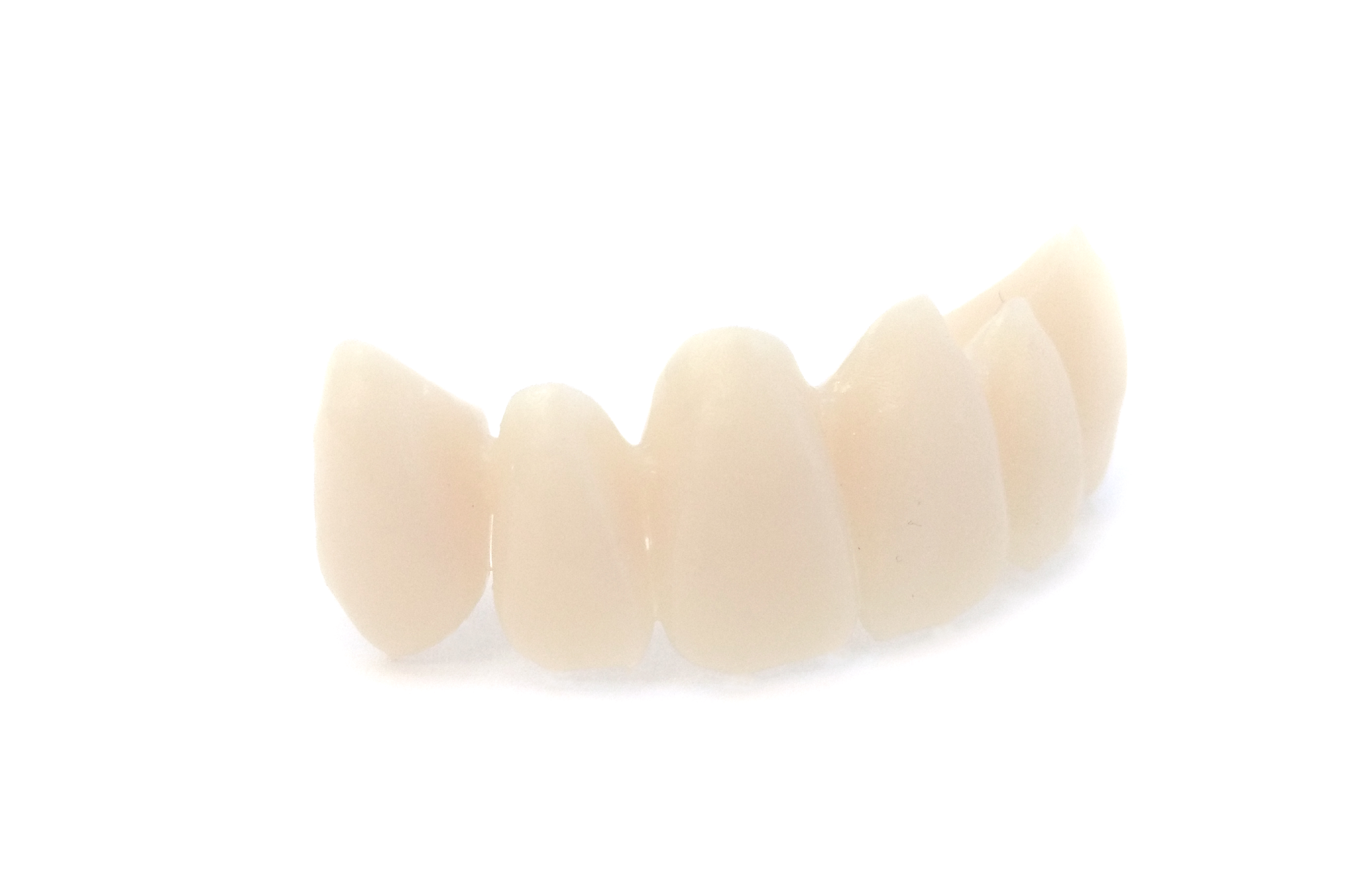 printed teeth front