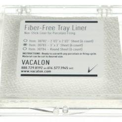 Fiber-free non-stickTray Liner