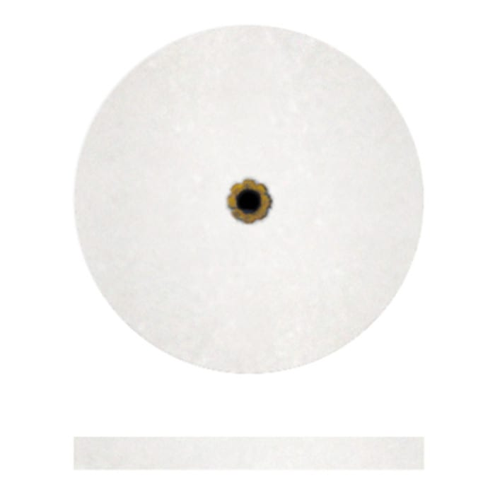 "#3 White Koolies 1 x 3/32 (50"""