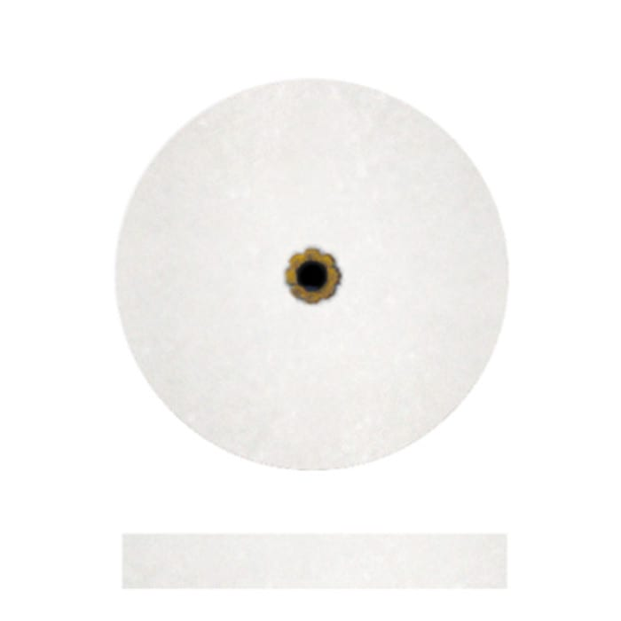 "#5 White Koolies 7/8 x 1/8 (5"""