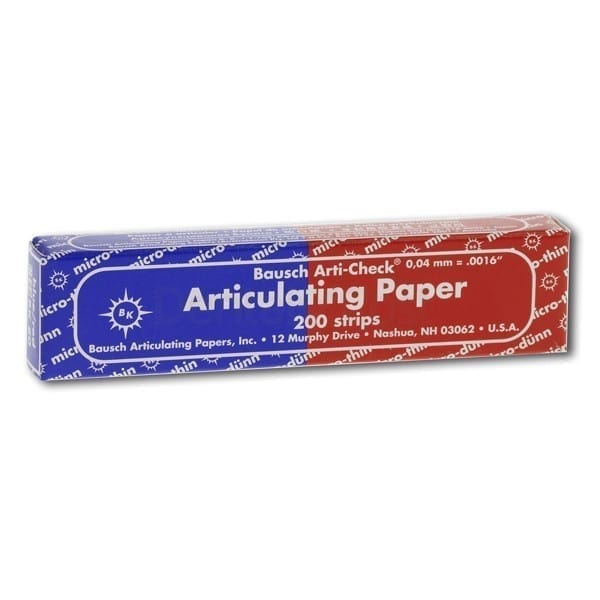 Bausch Artic Paper Red/Blue Th