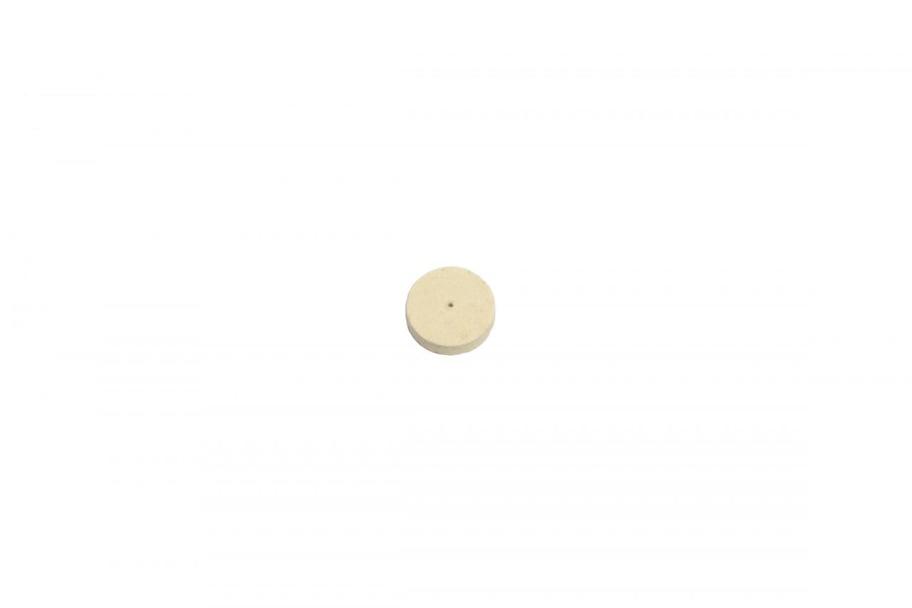 1 x 1/4 hard felt wheel (SOLD INDIVIDUALLY)