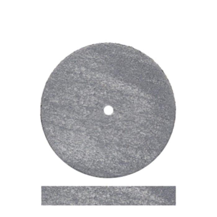 100 Grey Rubber Wheels #5002