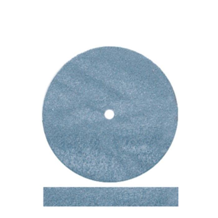 100 Blue Rubber Wheels #5004