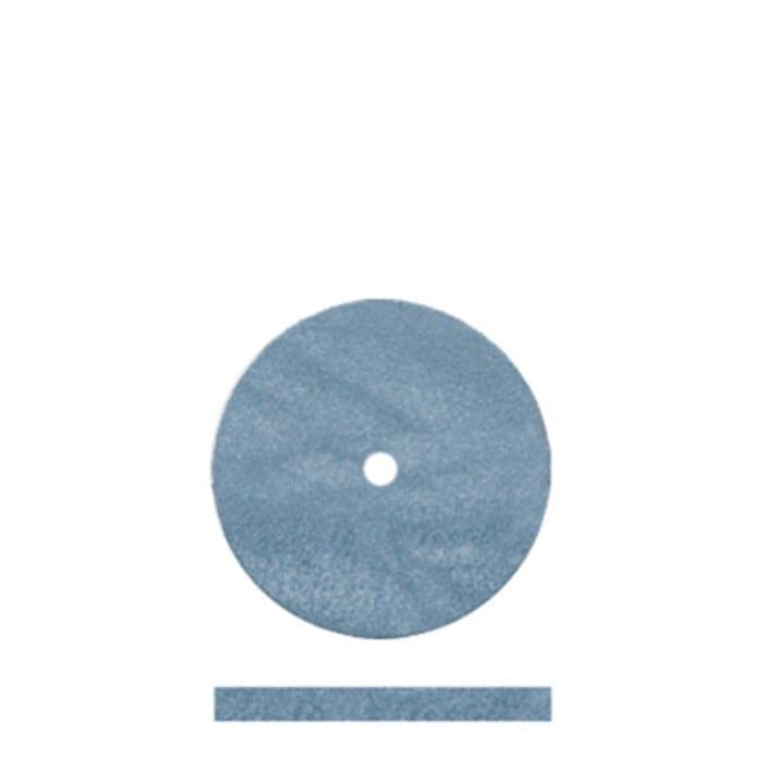 100 Blue Rubber Discs 5/8x1/6