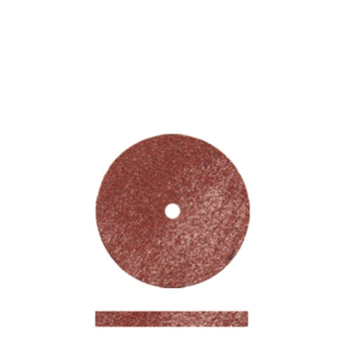 100 Red Rubber Discs 5/8 x1/16