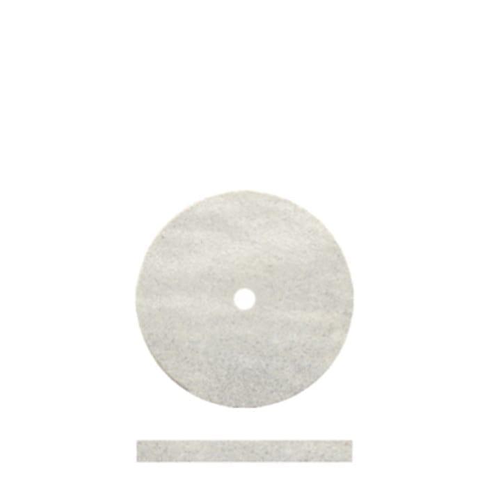 100 White Rubber Discs 5/8 x 1/6
