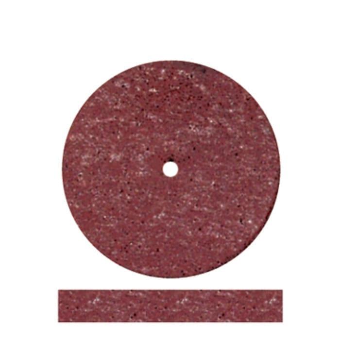 100 Red Acrylic Wheels 7/8x1/8