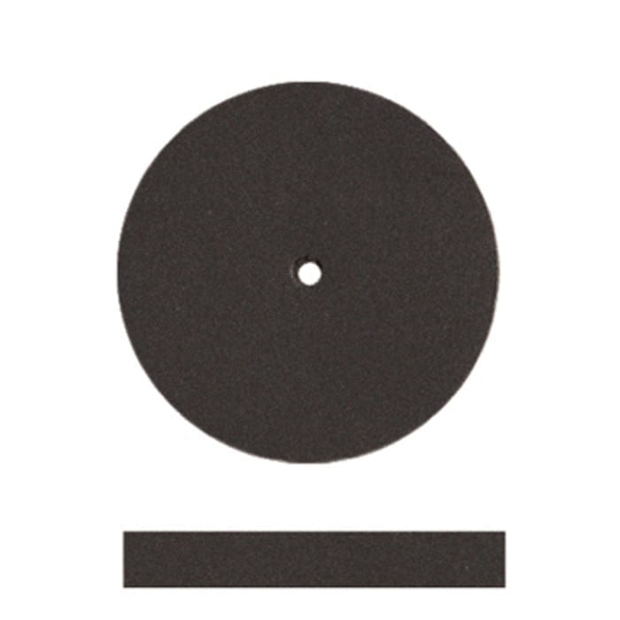 100 Black Univsl Wheel 7/8x1/8