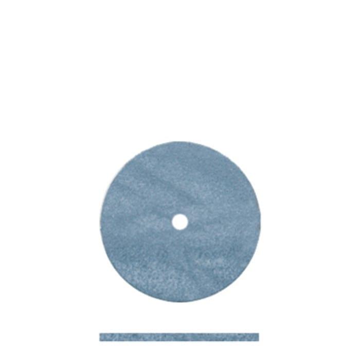 100 Blue Rubber Wheel 5/8 x .032