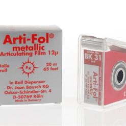 BK-31 Arti-Foil Red shim 12mic
