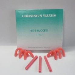 100 Corning bite blocks