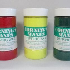 Dip Wax Corning Green Jar