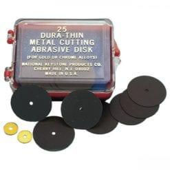 """25 Dura-Thin Disk .010 7/8"""""""