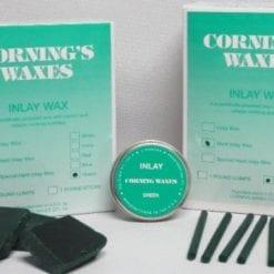 1# Hard Green Inlay Chunks Wax