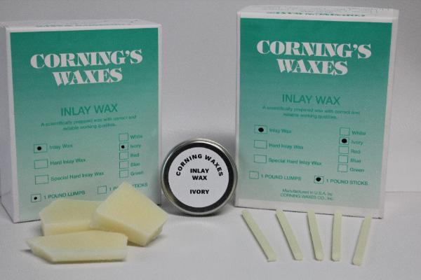 1# Lump Corning Ivory Inlay Wa