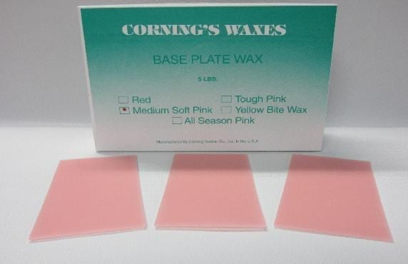 5# Medium Soft Baseplate Wax
