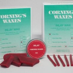 1# Lump Corning Red Inlay Wax
