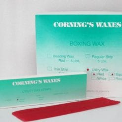 Red Round Rope Wax Lg Box