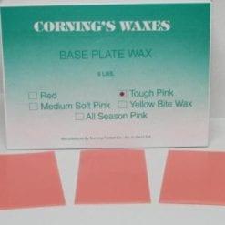 5# Tough pink baseplate wax