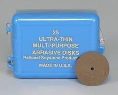 """25 .009 Ultra-Thin Disks 7/8"""""""