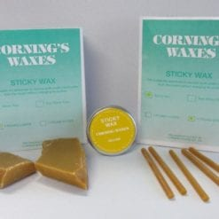 1# Sticky Wax Yellow Lumps