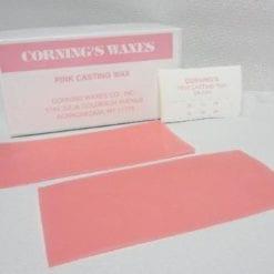 24ga pink casting wax sheets