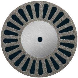 Diamond Disc 22mm medium perforated MOUNTED
