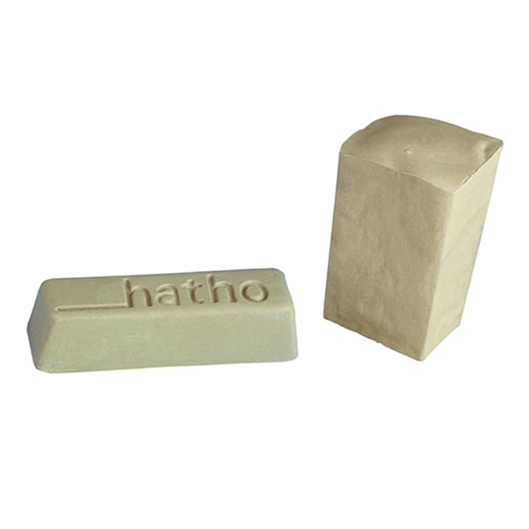 Hatho High Shine Beige 100g Bar  for polishing acrylics & polyme