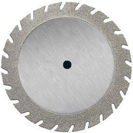 Diamond Coated Disc 22mm medium grit. Mounted.