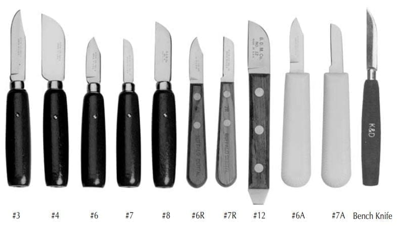 #3 Green Line Knife Buffalo