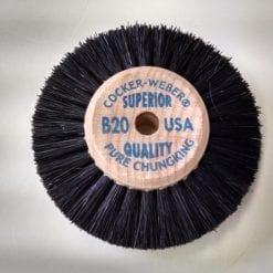 B20 wood hub brush wheel DOZEN