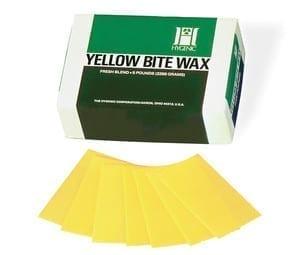 1# Hygenic Yellow Bite Wax