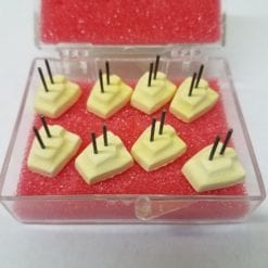 Micro Adjustable BICUSPID pegs with wires Yellow pegs 8 pack
