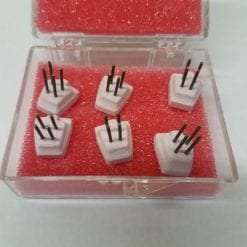 Micro Adjustable MOLAR pegs with wires PINK pegs 6 pack