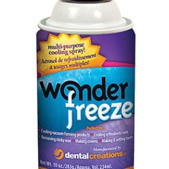 WonderFreeze Cooling Spray for mouthguards, wax, crowns after so
