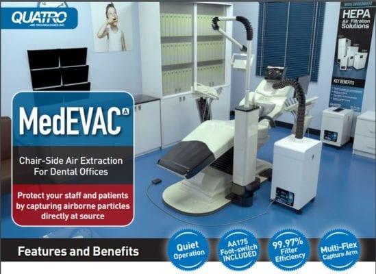 Quatro MedEvac Air Purifier